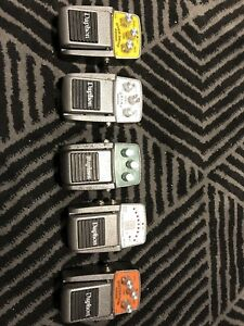 Guitar Effects Pedals and Tuner