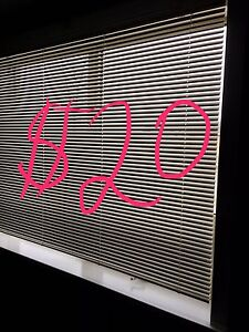 $20 to clean most blinds