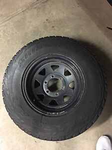 4WD Tyres With Sunraysia Rims 95%  near new condition. Sydenham Brimbank Area Preview