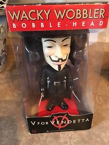 Funko V for Vendetta bobblehead
