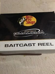 Great Condition LH (Left Handed) Bass Pro Baitcast Reel