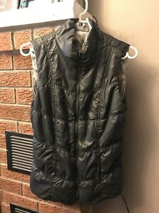 New with tags Tribal reversible puffer vest - size S