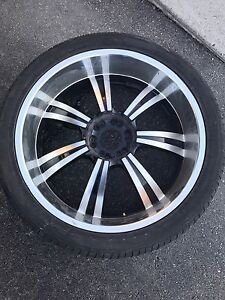 6x135 rims and tires