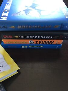 11 Diary of a Wimpy kid books Hunger games books and more