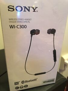 Sony wireless Bluetooth earbuds new in unopened package