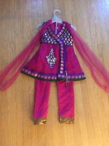 18 month pink baby girl indian suit