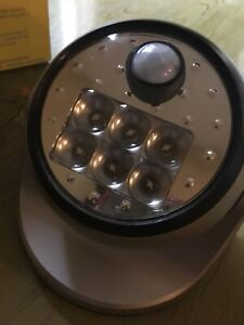 Motion Sensing Porch Light.   Battery operated.