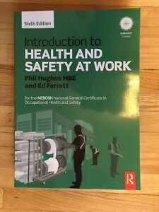 Introduction to Health and Safety at Work by Phil Hugues