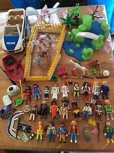Lot de figurines playmobil