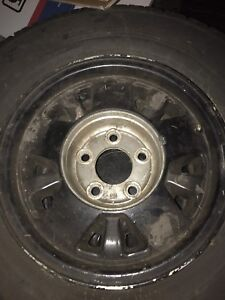 GMC alloy rims and tires