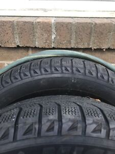 Two winter tires 215 65 R16