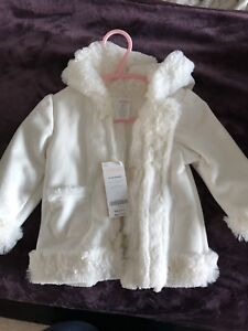 Gymboree White Fall Coat