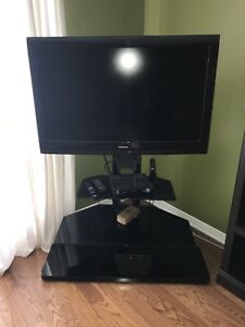 42 inch TV and stand.