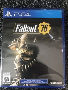Fallout 76 - Sealed -PS4