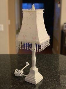 Fancy White Table Lamp Light
