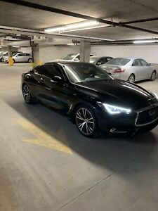 Lease take over 2017 Black Infiniti Q60 3.0T Immaculate!