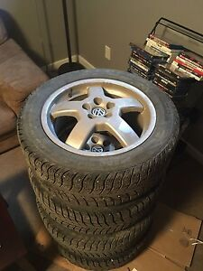 "16"" VW Rave Rims + Tires"
