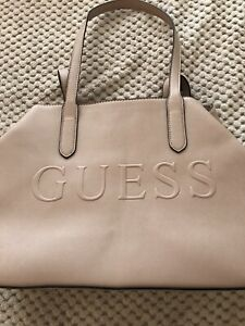 Guess light pink purse
