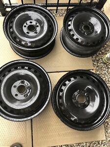 """5x108 16"""" Steel Wheels Set of four: Ford Volvo Rims"""
