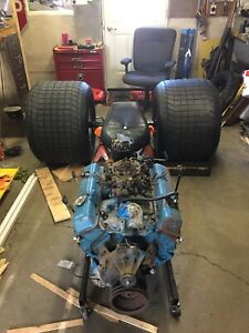 Chevy 350 with 200r4 tranny rear end and more
