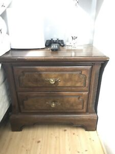 Solid wood dresser and night stand set
