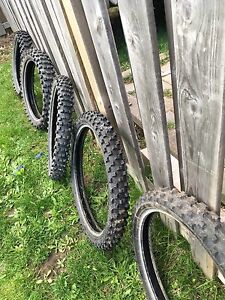 Dirt bike tires