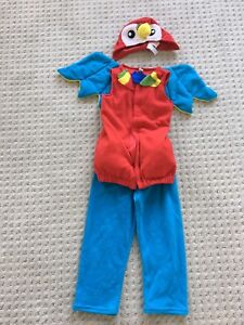 Toddler Parrot costume (4T -5T)