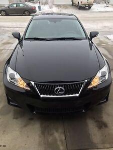 Lexus 2012 awd IS 250  Fully loaded Low  km