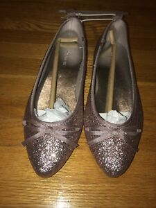 Brand New Sparkly Flat Shoes Size 1