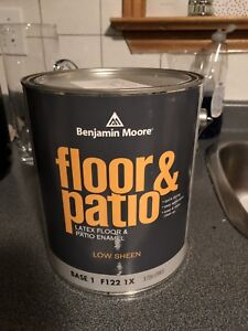 Benjamin Moore Shadow Grey Floor paint