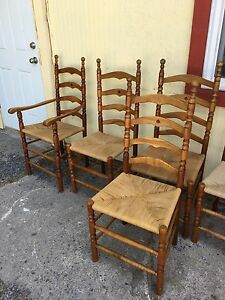 Vintage antique set of 6 chairs