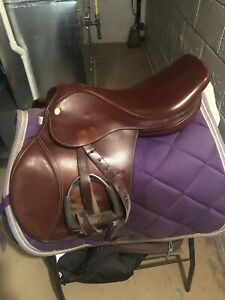 Horse saddle and clothing for sale