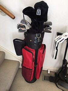 Ladies golf clubs - full set, Wilsons Pro-Staff + golf cart Hawthorn Boroondara Area Preview