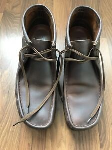Men's Clarks Originals Wallabee Boots 10.5 Beeswax