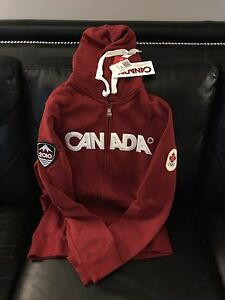 BNWT Canada Day Hoodie from The Bay (red) Small