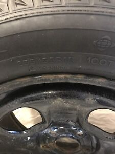Micheline X-ice van/truck tires with Rims