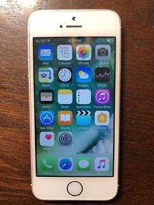 Rose Gold iPhone 5SE - 16GB