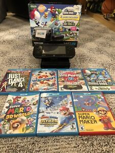 Wii U Deluxe Set w/ 7 Games and Lots Of Extras!