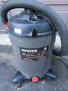 Hoover Wet/Dry Shop Vac $50