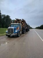 Log truck driver  double shift
