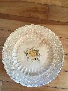 Antique Rose Plates - Billingsley and Birbeck - Spode