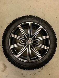 Good Condition USED Rims and Winter Tires 205/55R16