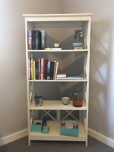 White Vintage Bookshelf