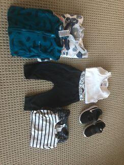 Bonds bundle & Black and white Nikes