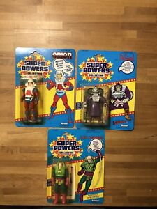 Kenner Super Powers all factory sealed