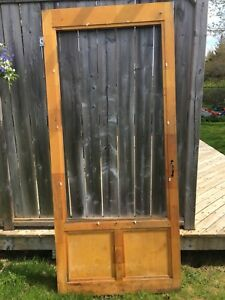 Screen / Glass Pine Exterior Door - PENDING