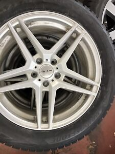 P235/55R18 Rim and Tire Set