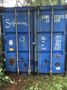 Used 20' shipping container  30,000 Kg capacity.