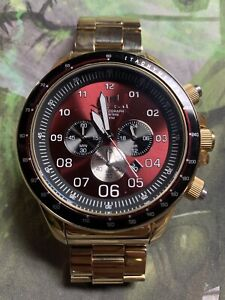 DISCONTINUED* large face vestal watch