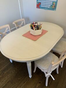 Restoration hardware baby & child play table and chairs